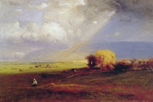 George Inness - Passing Clouds (or Passing Shower)