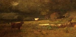 George Inness - The Coming Storm (or Approaching Storm)