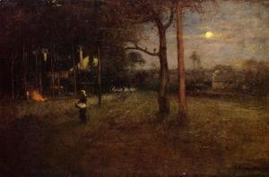 George Inness - Moonlight, Tarpon Springs, Florida