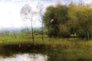 George Inness - Summer, Montclair (or New Jersey Landscape)