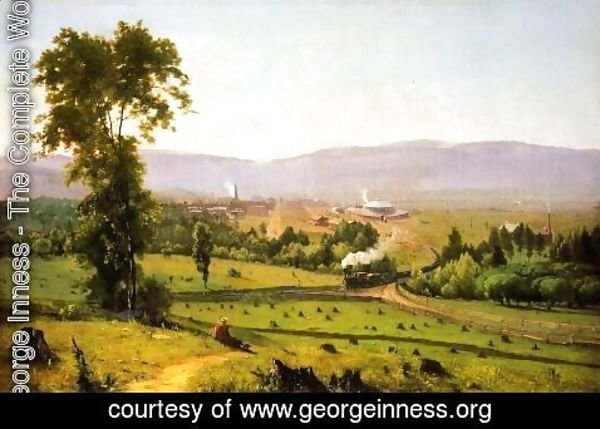 George Inness - The Lackaanna Valley