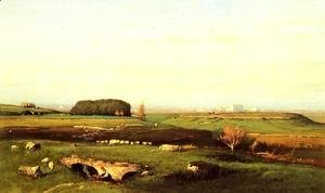 George Inness - In the Roman Campagna