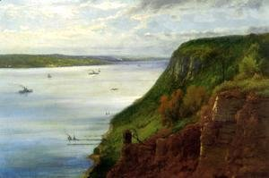 George Inness - The Palisaides