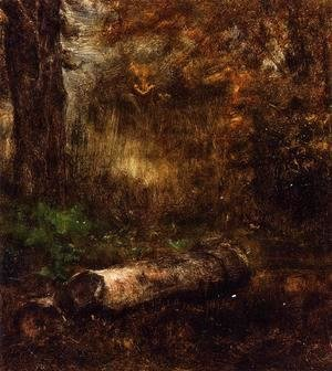 George Inness - The Log