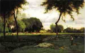 George Inness - Montclair Evening