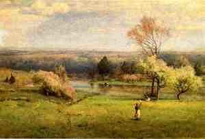 George Inness - Pond at Milton on the Hudson I