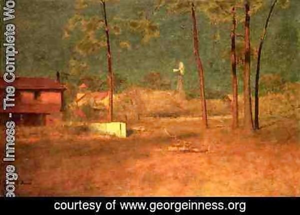 George Inness - George Inness's Home, Tarpon Springs, Florida