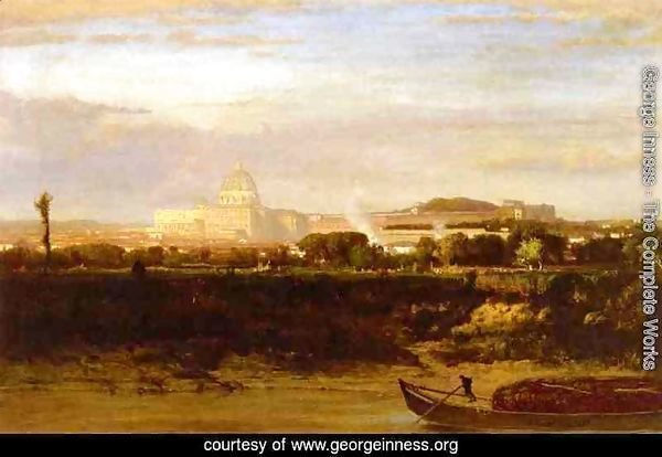 View of St. Peter's, Rome