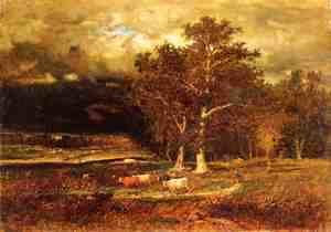 George Inness - Approaching Storm