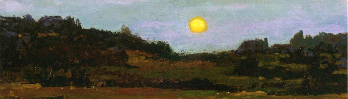 George Inness - Harvest Moon