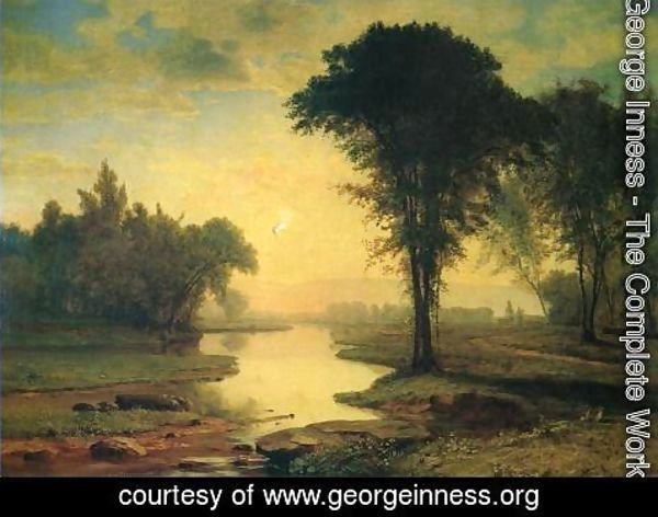 George Inness - The Elm