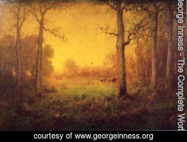 George Inness - Rural Landscape