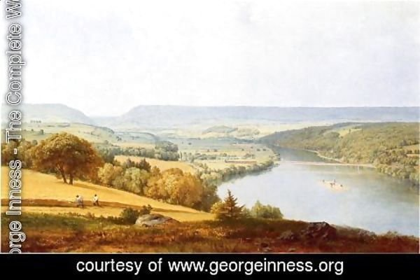 George Inness - Delaware Water Gap I