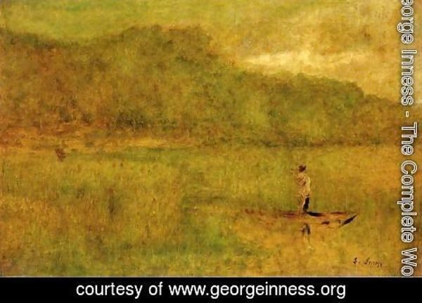 George Inness - Green Marshes