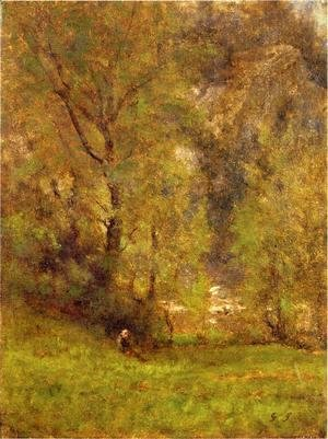 George Inness - Near the Delaware Water Gap