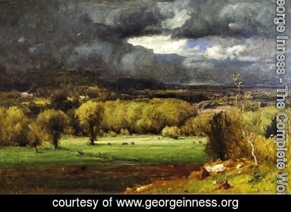 George Inness - The Coming Storm III
