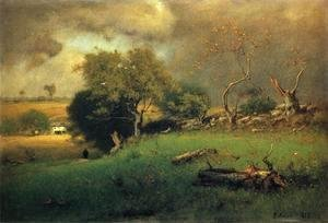 George Inness - The Storm II