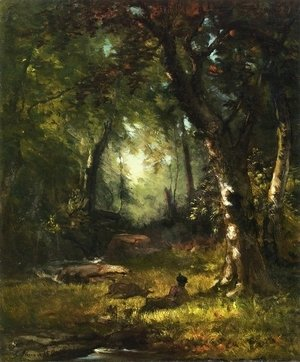 George Inness - The Huntsman
