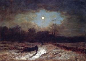 George Inness - Christmas Eve
