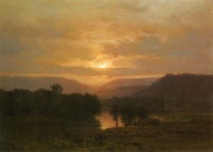 George Inness - Sunset I
