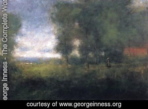 George Inness - Edge of the Woods