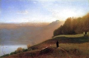 George Inness - Lake Nemi