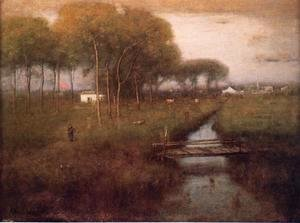 George Inness - Early Moonrise, Tarpon Springs