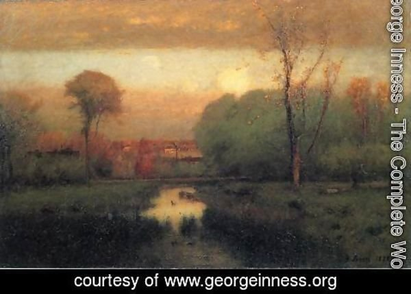 George Inness - Autumn Gold