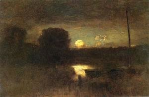 George Inness The Complete Works Winter Evening