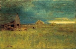 George Inness - The Lone Farm, Nantucket