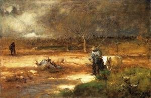 George Inness - Homeward
