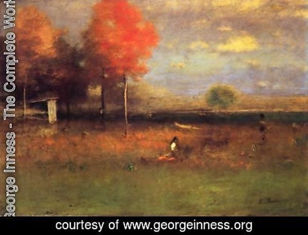 George Inness - Indian Summer