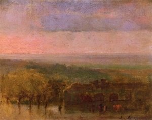 George Inness - The Far Horizon