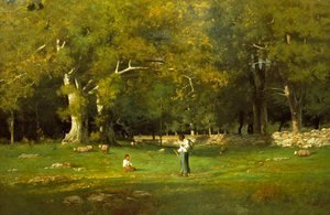 George Inness - An Old Roadway