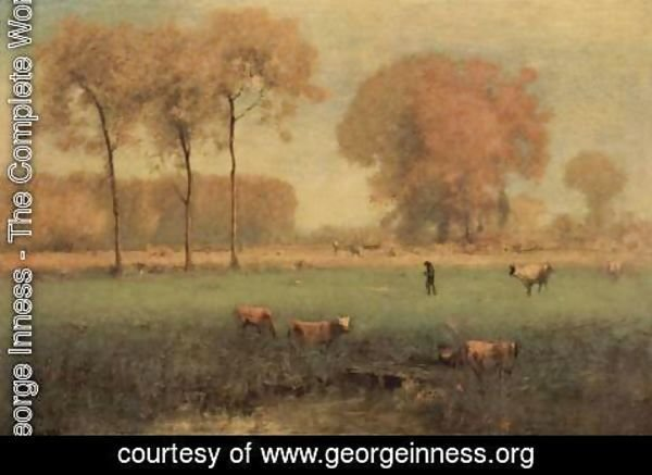 George Inness - Altweibersommer
