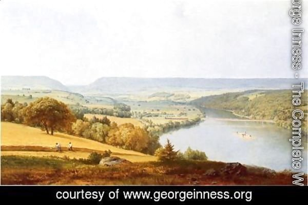 George Inness - Delaware Water Gap 2