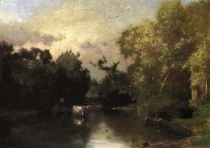 George Inness - The Peqonic, New Jersey