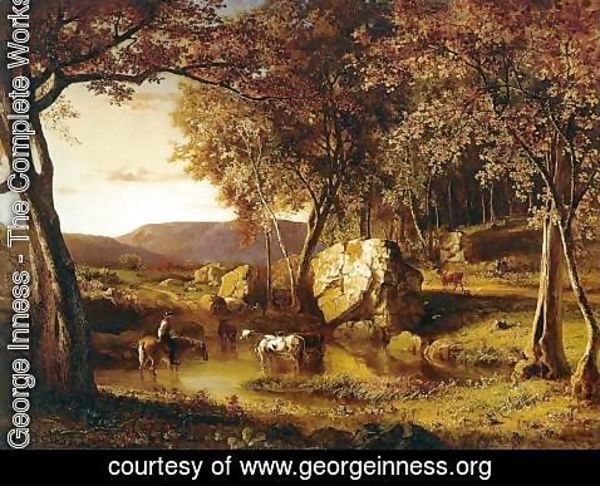 George Inness - Summer Days