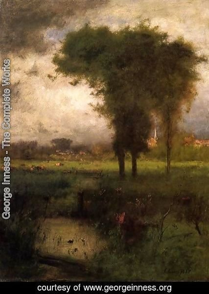George Inness - Summer Montclair 1887