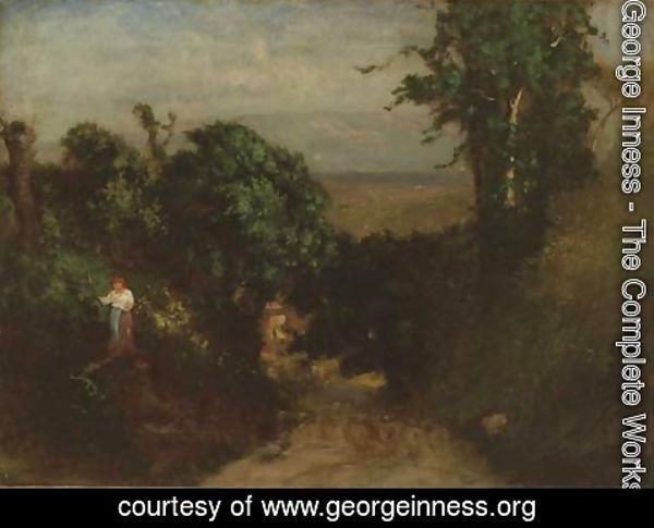 George Inness - Albano, Italy