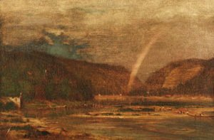 George Inness - Delaware Water Gap 3