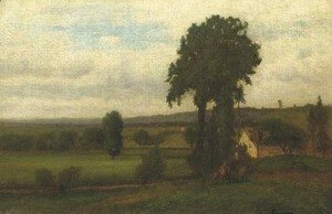 George Inness - Durham Valley