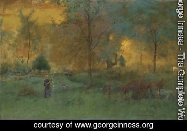 George Inness - Golden Glow