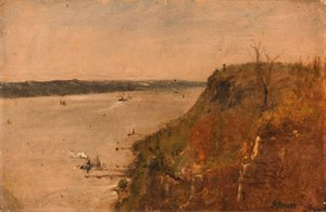 George Inness - Palisades on the Hudson