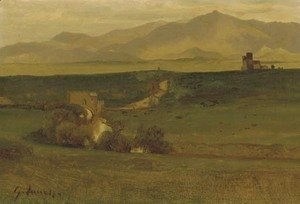 George Inness - Roman Campagna