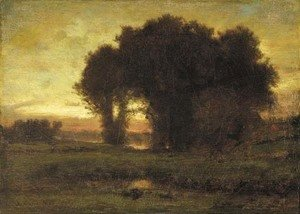George Inness - Sunset 3