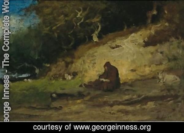 George Inness - The Hermit
