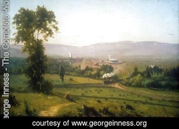 George Inness - Lackawanna Valley, 1855