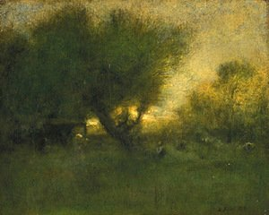 George Inness - In the Gloaming