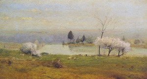 George Inness - Pond At Milton On The Hudson